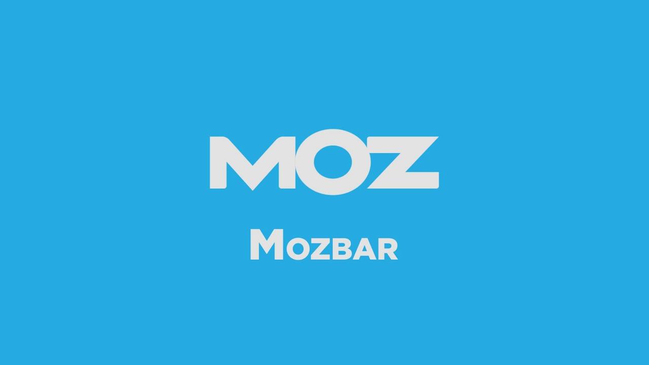 MozBar: Todo lo que debes saber