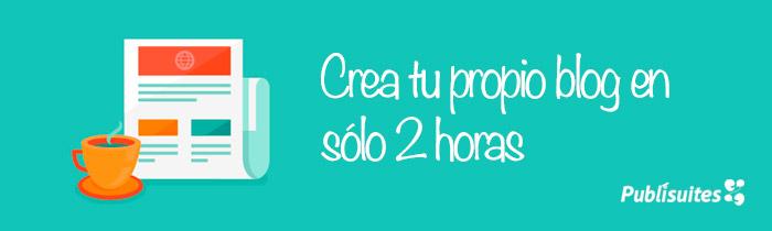 crear blog