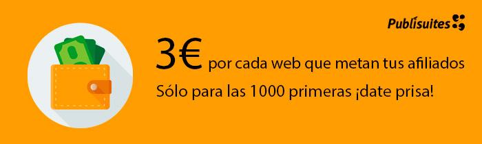 Reto: 1000 webs. ¡Únete y gana dinero!