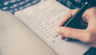 Lista de tareas antes de publicar un post. Incluye meteduras de pata reales.