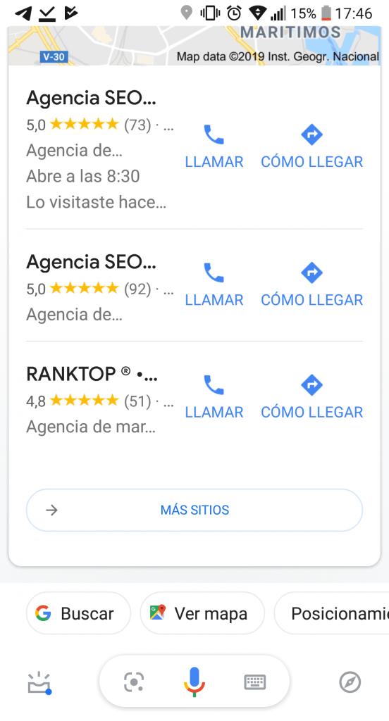 búsqueda voz agencia
