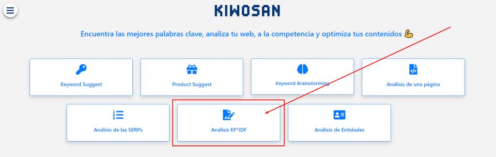 kiwosan análisis tf-idf
