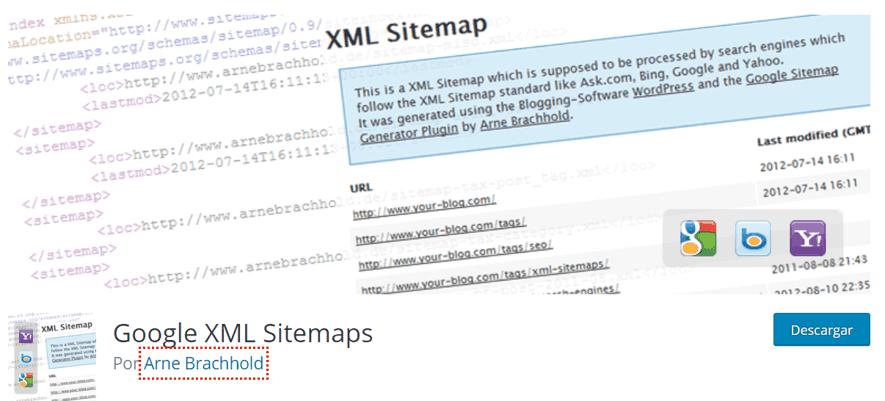 plugin google xml sitemap