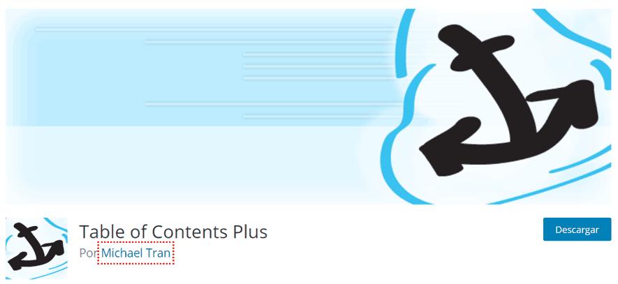 plugin table of content plus