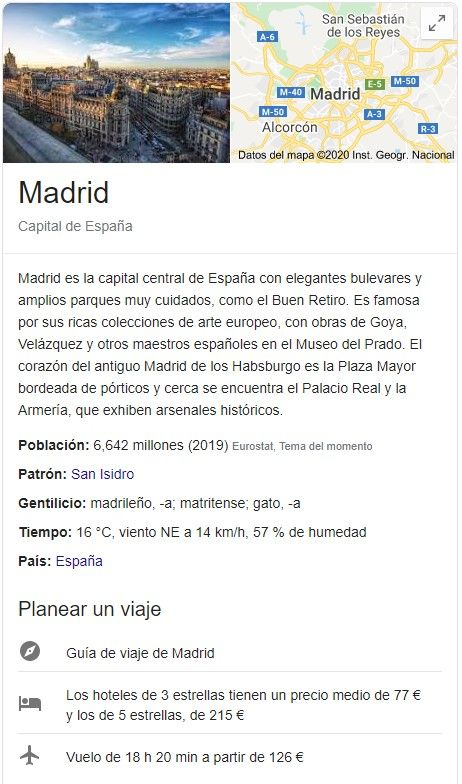 knowledge graph entidad