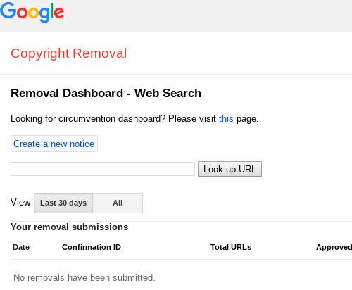 eliminar plagio en google