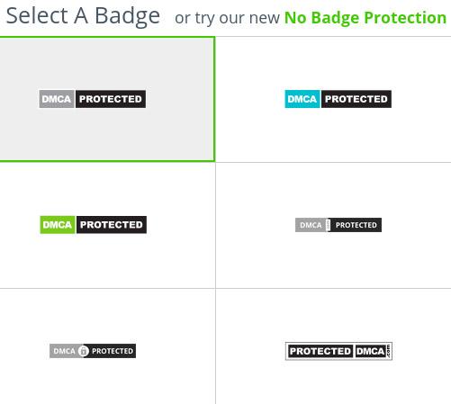 etiqueta dmca protected