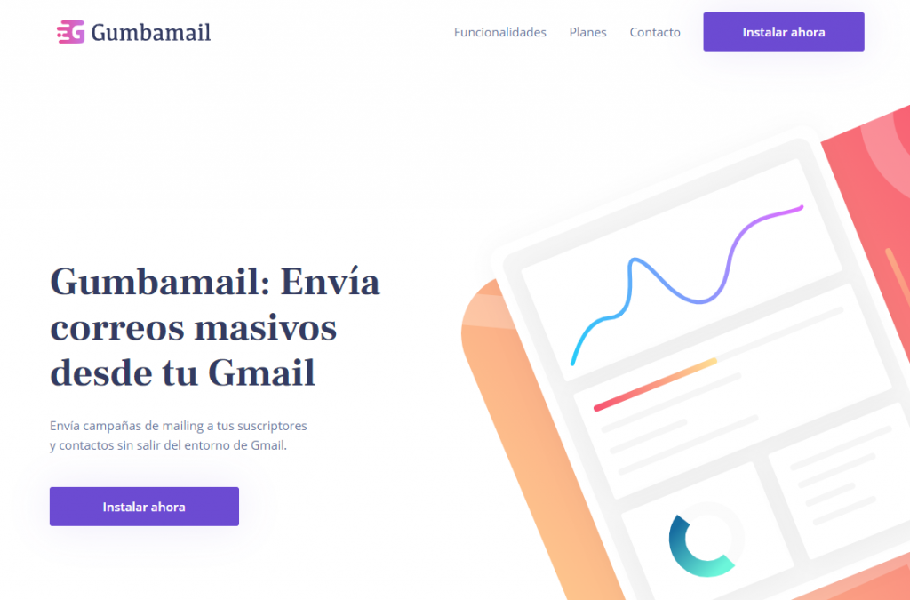 email marketing desde gmail con gumbamail