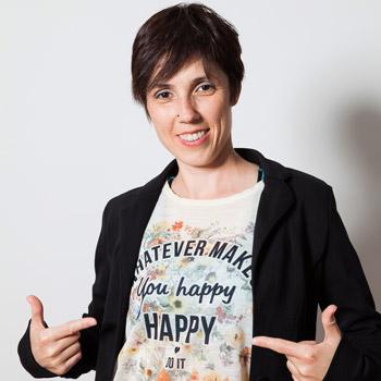 Rocío García,Youtuber en nuestro canal HappyBuilding